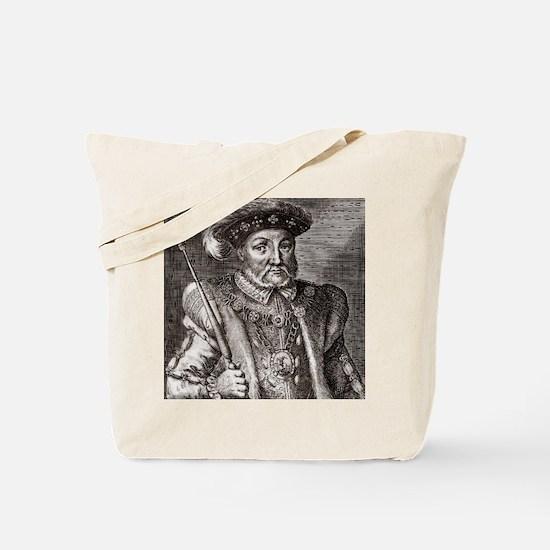 King Henry VIII of England Tote Bag