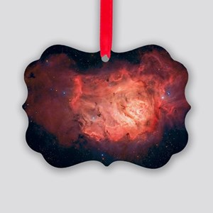 Lagoon Nebula Picture Ornament