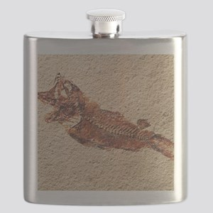 Fossilised fish Flask