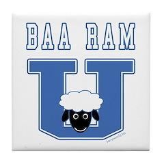 Baa Ram U. Tile Coaster