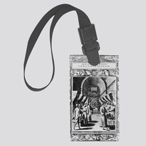 Knights Hospitaller, 16th centur Large Luggage Tag