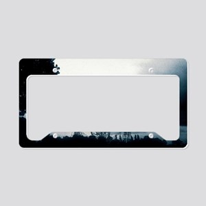 Jodrell Bank Observatory License Plate Holder
