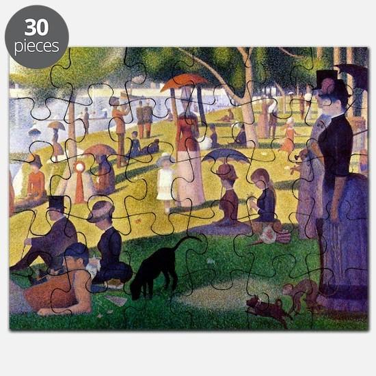 Georges Seurat Puzzle