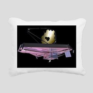 James Webb Space Telesco Rectangular Canvas Pillow