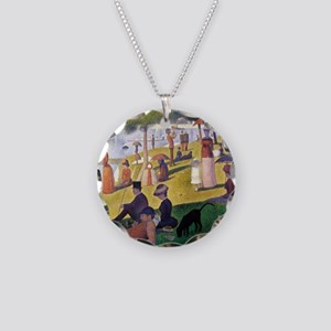 George4 Necklace Circle Charm