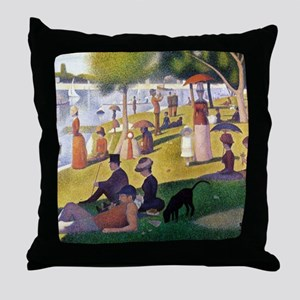 George4 Throw Pillow