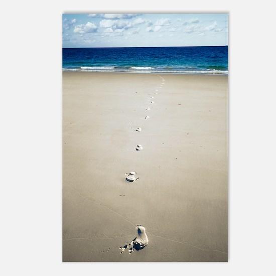 Footprints Postcards (Package of 8)