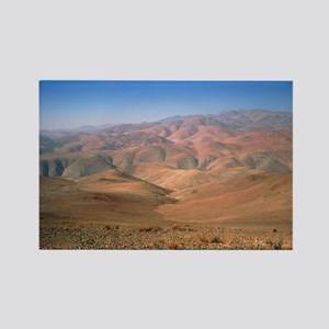 Foothills of the Andes, Atacama D Rectangle Magnet