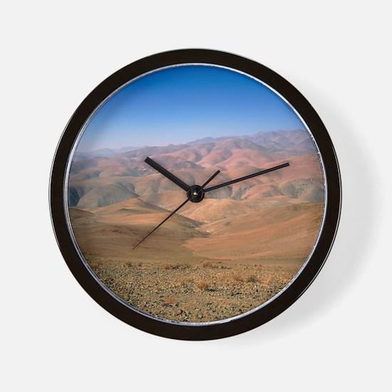 Foothills of the Andes, Atacama Desert, Wall Clock