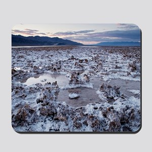 Flooded salt flat Mousepad