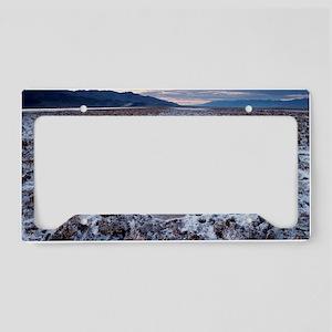 Flooded salt flat License Plate Holder