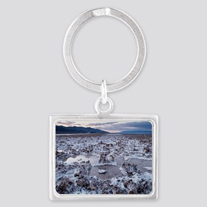 Flooded salt flat Landscape Keychain