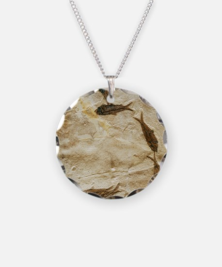Fish fossils Necklace