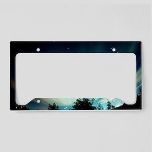 Fisheye lens photograph of th License Plate Holder