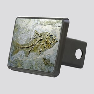 Fish fossil Rectangular Hitch Cover