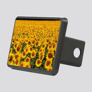 Field of sunflowers, Franc Rectangular Hitch Cover