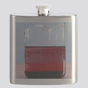 Ink diffusing through water Flask