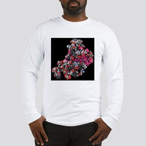 Human prion protein, molecular Long Sleeve T-Shirt