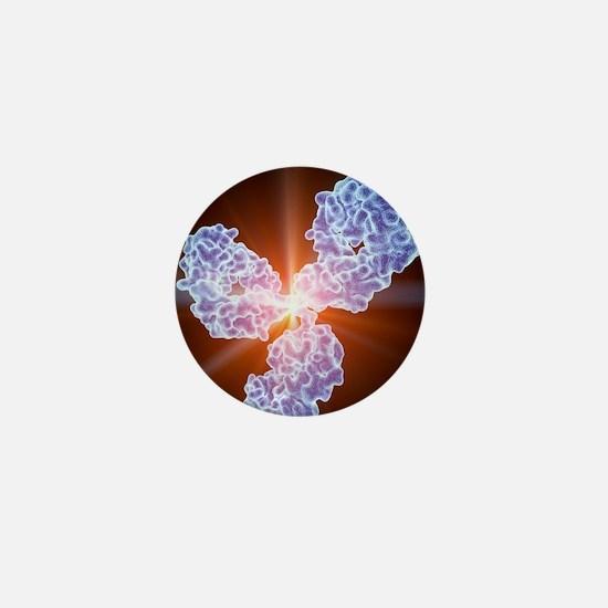 Immunoglobulin G antibody molecule Mini Button