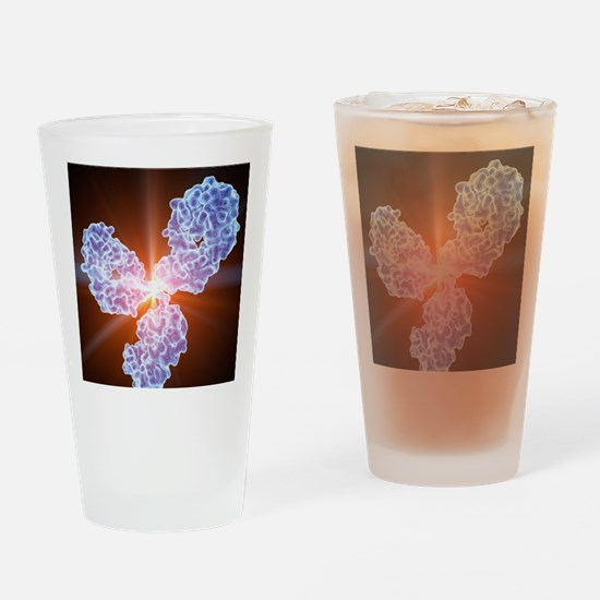Immunoglobulin G antibody molecule Drinking Glass