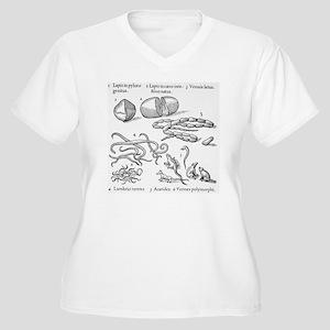 Human parasites,  Women's Plus Size V-Neck T-Shirt