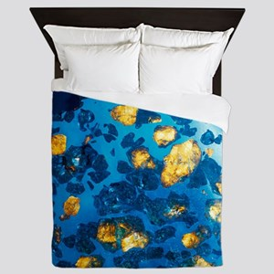 Imilac meteorite sample Queen Duvet
