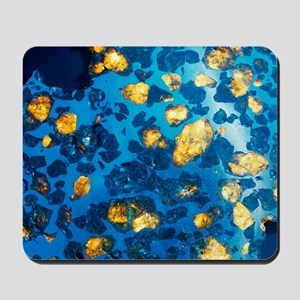Imilac meteorite sample Mousepad