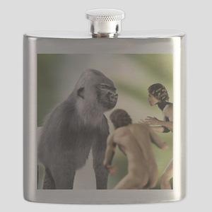 Extinct giant gorilla Flask