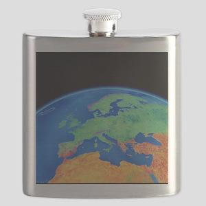 Europe Flask