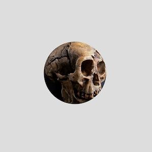 Homo floresiensis skull Mini Button