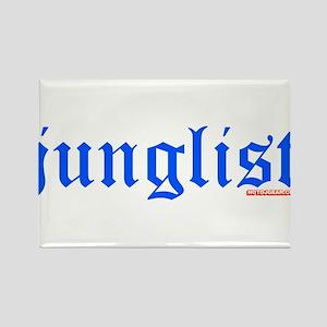 Junglist Rectangle Magnet