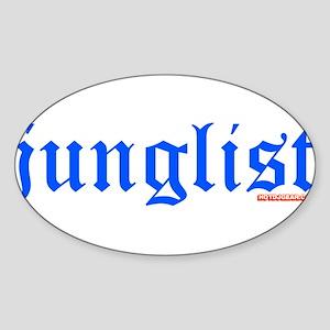 Junglist Sticker (Oval)