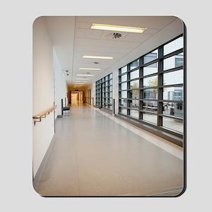 Hospital corridor Mousepad