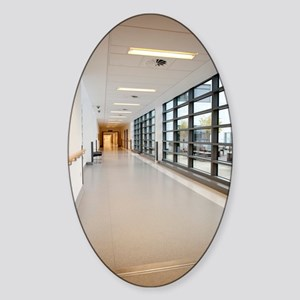 Hospital corridor Sticker (Oval)