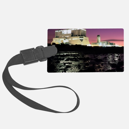 Hinkley Point nuclear power stat Luggage Tag