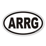 ARRG Euro Oval Sticker