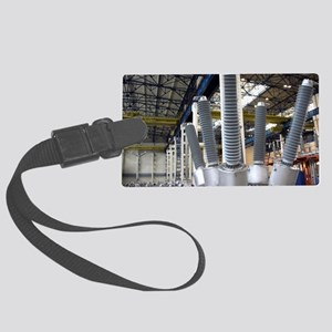 High voltage electrical equipmen Large Luggage Tag