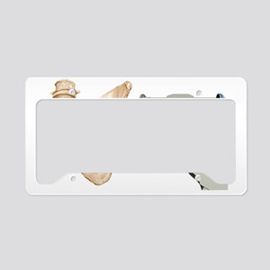 Hip replacement, artwork License Plate Holder