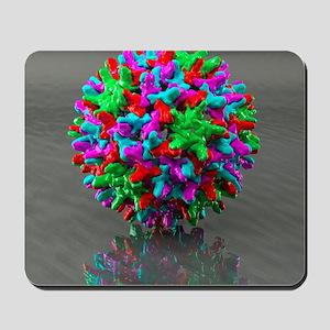 Hepatitis B virus, artwork Mousepad