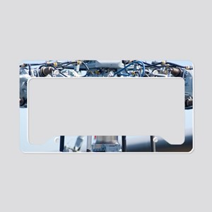 Helicopter rotor head License Plate Holder