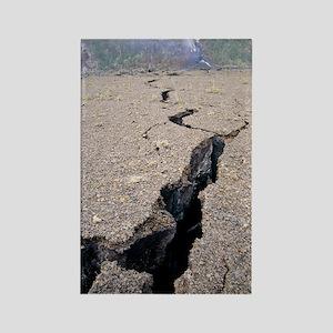 East rift zone of Kilauea volcano Rectangle Magnet