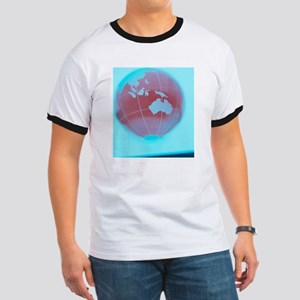 Earth globe Ringer T