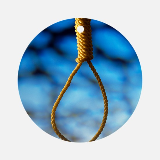 Hangman's noose Round Ornament