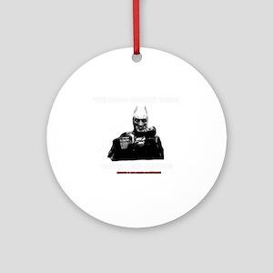 The Dork Knight Rises Round Ornament