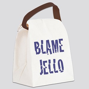 Blame Jello Canvas Lunch Bag