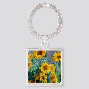 Jewelry Monet Sunf Square Keychain