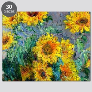 Jewelry Monet Sunf Puzzle