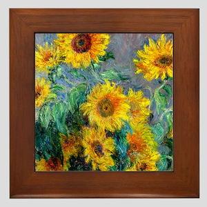 Jewelry Monet Sunf Framed Tile