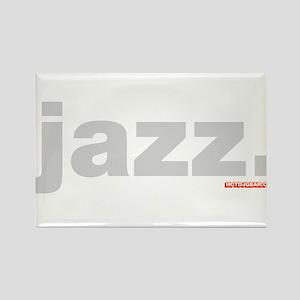 Jazz. Rectangle Magnet