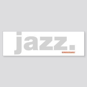 Jazz. Sticker (Bumper)
